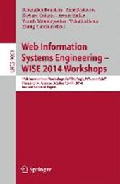 Web Information Systems Engineering - WISE 2014 Workshops |  |