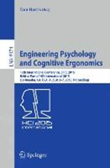 Engineering Psychology and Cognitive Ergonomics |  |