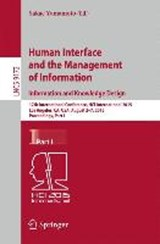 Human Interface and the Management of Information. Information and Knowledge Design | auteur onbekend |