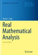Real Mathematical Analysis | Charles Chapman Pugh |