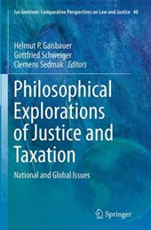 Philosophical Explorations of Justice and Taxation |  |
