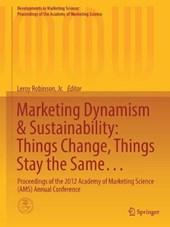 Marketing Dynamism & Sustainability
