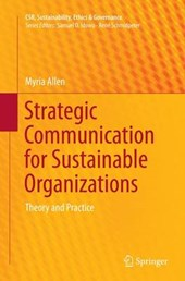 Strategic Communication for Sustainable Organizations