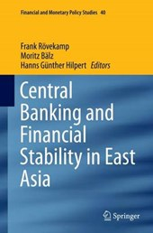 Central Banking and Financial Stability in East Asia