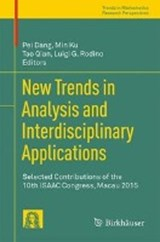 New Trends in Analysis and Interdisciplinary Applications | auteur onbekend |