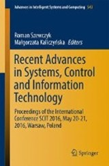 Recent Advances in Systems, Control and Information Technology | auteur onbekend |
