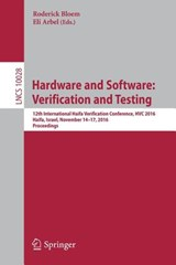Hardware and Software: Verification and Testing | auteur onbekend |