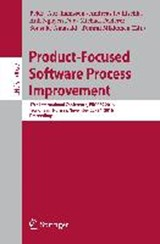 Product-Focused Software Process Improvement |  |