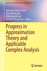 Progress in Approximation Theory and Applicable Complex Analysis |  |