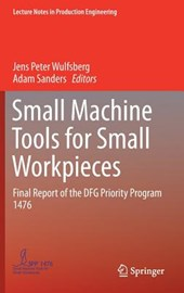Small Machine Tools for Small Workpieces
