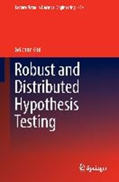 Robust and Distributed Hypothesis Testing