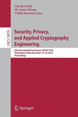 Security, Privacy, and Applied Cryptography Engineering | auteur onbekend |