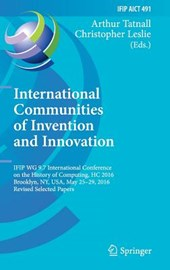 International Communities of Invention and Innovation