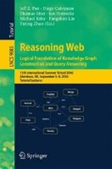 Reasoning Web: Logical Foundation of Knowledge Graph Construction and Query Answering | auteur onbekend |