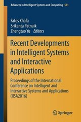Recent Developments in Intelligent Systems and Interactive Applications |  |