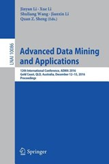 Advanced Data Mining and Applications | auteur onbekend |