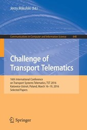 Challenge of Transport Telematics