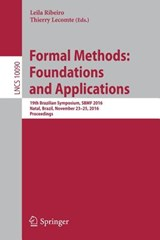 Formal Methods: Foundations and Applications | auteur onbekend |