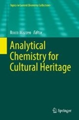 Analytical Chemistry for Cultural Heritage | auteur onbekend |