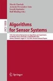 Algorithms for Sensor Systems
