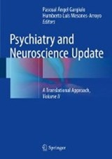 Psychiatry and Neuroscience Update - Vol. II | auteur onbekend |