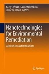 Nanotechnologies for Environmental Remediation
