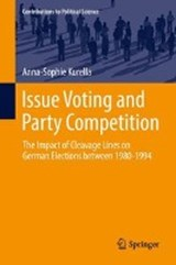 Issue Voting and Party Competition | Anna-Sophie Kurella |