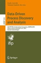 Data-Driven Process Discovery and Analysis |  |