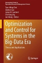 Optimization and Control for Systems in the Big-Data Era | auteur onbekend |