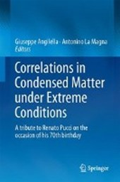 Correlations in Condensed Matter under Extreme Conditions |  |