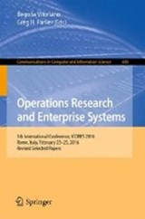 Operations Research and Enterprise Systems | auteur onbekend |