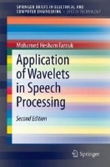 Application of Wavelets in Speech Processing | Mohamed Hesham Farouk |