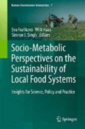 Socio-Metabolic Perspectives on Sustainability of Local Food Systems |  |