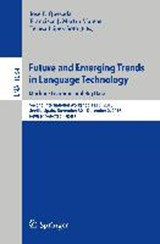 Future and Emerging Trends in Language Technology. Machine Learning and Big Data | auteur onbekend |