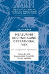 Measuring and Managing Operational Risk | auteur onbekend |