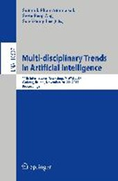 Multi-disciplinary Trends in Artificial Intelligence |  |