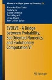EVOLVE - A Bridge between Probability, Set Oriented Numerics, and Evolutionary Computation VI |  |