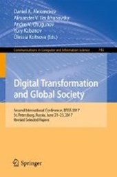 Digital Transformation and Global Society |  |
