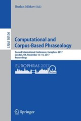 Computational  and Corpus-Based Phraseology | auteur onbekend |