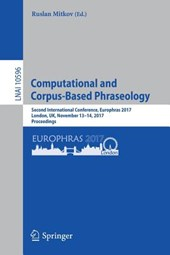 Computational  and Corpus-Based Phraseology