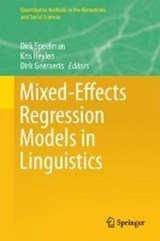 Mixed Effects Regression Models in Linguistics | auteur onbekend |