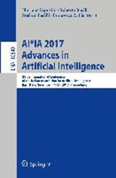 AI*IA 2017: Advances in Artificial Intelligence