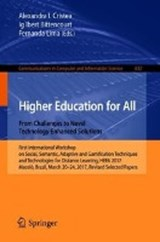 Higher Education for All. From Challenges to Novel Technology-enhanced Solutions | auteur onbekend |