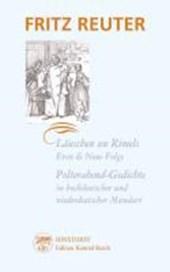 Läuschen un Rimels / Polterabend-Gedichte in hochdeutscher und niederdeutscher Mundart