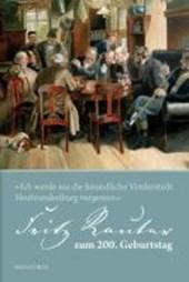 Fritz Reuter zum 200. Geburtstag. 1810 ?
