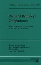 Richard Brinkley's Obligations