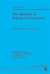 The Opuscula of William of Saint-Amour | Andrew Traver |