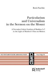 Particularism and Universalism in the Sermon on the Mount | Boris Paschke |