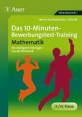 Das 10-Minuten-Mathe-Bewerbungstest-Training