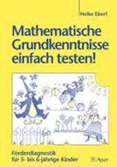 Mathematische Grundkenntnisse einfach testen!
